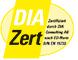 Logo DIAZert - Immobilienmakler zertifizierung Immoperlen